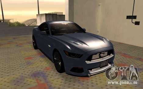 Ford Mustang GT 2015 für GTA San Andreas rechten Ansicht