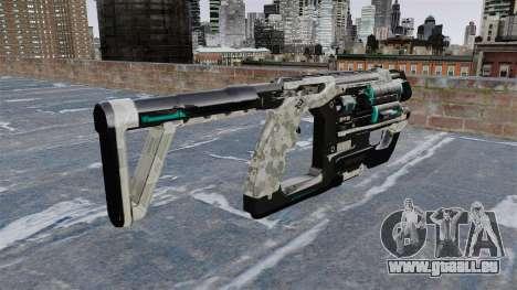 Crysis 2-mitraillette pour GTA 4 secondes d'écran