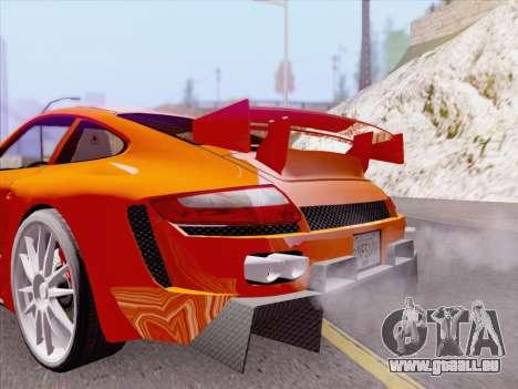Porsche Carrera S pour GTA San Andreas salon