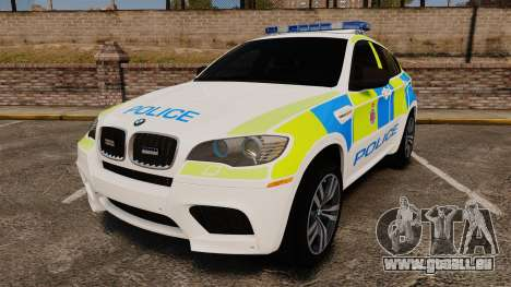 BMW X6 Lancashire Police [ELS] für GTA 4