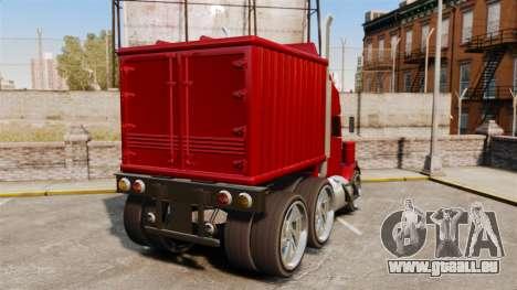 Mini camion pour GTA 4 Vue arrière de la gauche