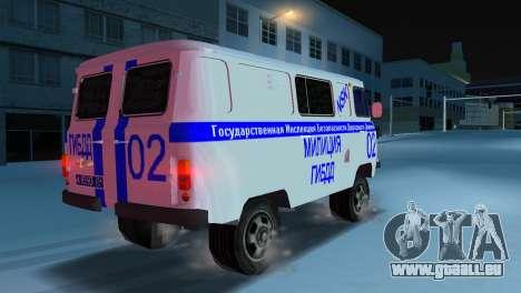 UAZ-3741 GIBDD für GTA Vice City linke Ansicht