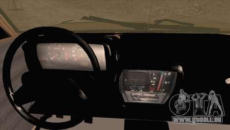 Ikco Paykan Pickup pour GTA San Andreas sur la vue arrière gauche