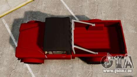 GTA V Canis Bodhi für GTA 4 rechte Ansicht