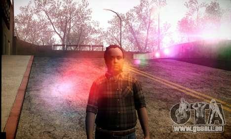 Lester de GTA V pour GTA San Andreas deuxième écran