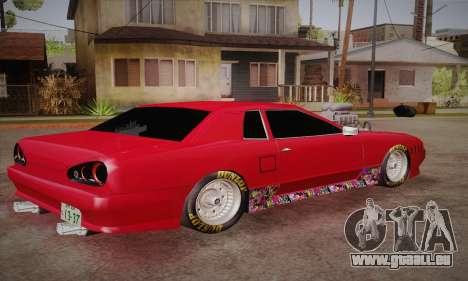 Elegy Frankinshtain pour GTA San Andreas laissé vue