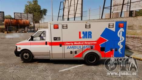 Brute Liberty Ambulance [ELS] pour GTA 4 est une gauche