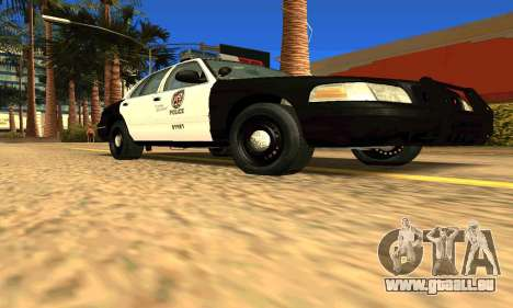 Ford Crown Victoria Police LV pour GTA San Andreas vue de droite