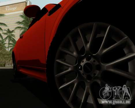 MINI Cooper S 2012 pour GTA San Andreas salon