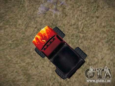 Neue Texturen für Monster (A) für GTA San Andreas rechten Ansicht