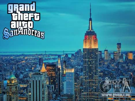 Loadscreens New-York für GTA San Andreas fünften Screenshot