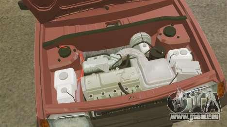Vaz-2109 pour GTA 4 Vue arrière
