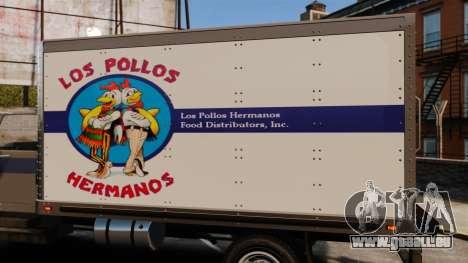 Yankee Los Pollos Hermanos pour GTA 4 Vue arrière de la gauche