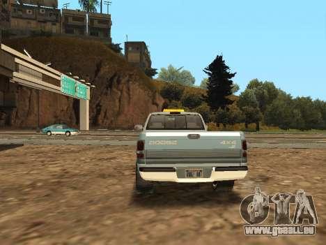 Dodge Ram für GTA San Andreas rechten Ansicht