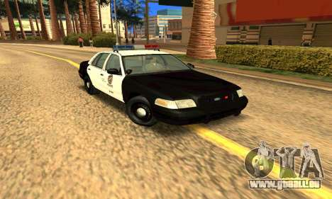 Ford Crown Victoria Police LV pour GTA San Andreas vue arrière