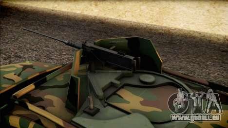 Dacia Duster Army Skin 2 für GTA San Andreas Rückansicht