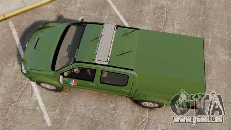 Toyota Hilux Land Forces France [ELS] für GTA 4 rechte Ansicht