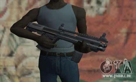 KSG12 für GTA San Andreas dritten Screenshot