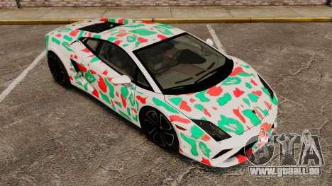 Lamborghini Gallardo 2013 v2.0 für GTA 4 Unteransicht