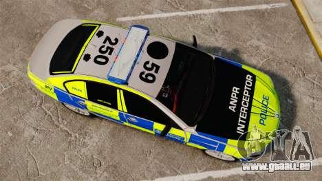 BMW 550i Metropolitan Police [ELS] pour GTA 4 est un droit