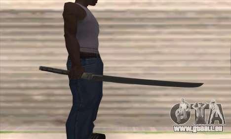 HD Blade pour GTA San Andreas troisième écran