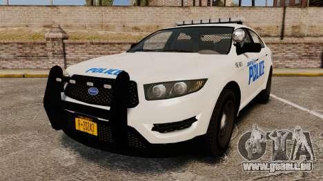 GTA V Vapid Police Interceptor LCPD [ELS] für GTA 4