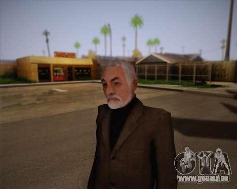 Dr Breen pour GTA San Andreas troisième écran