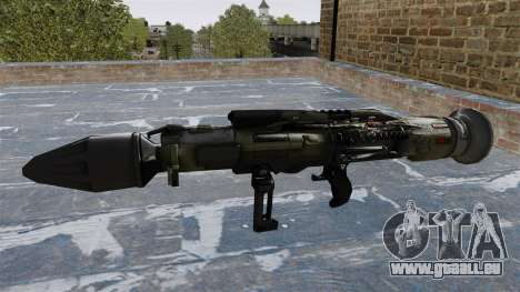 Lance-grenades antichar Crysis 2 pour GTA 4 troisième écran