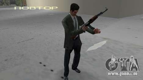 Kalashnikov GTA Vice City pour la deuxième capture d'écran