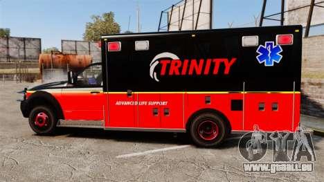 Landstalker L-350 Trinity EMS Ambulance [ELS] pour GTA 4 est une gauche