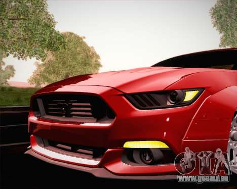 Ford Mustang Rocket Bunny 2015 für GTA San Andreas Räder