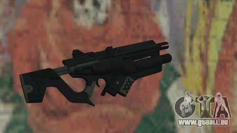 Gewehr der Timeshift für GTA San Andreas zweiten Screenshot