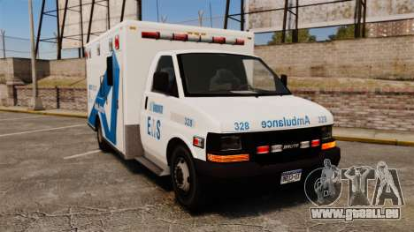 Brute Ambulance Toronto [ELS] für GTA 4