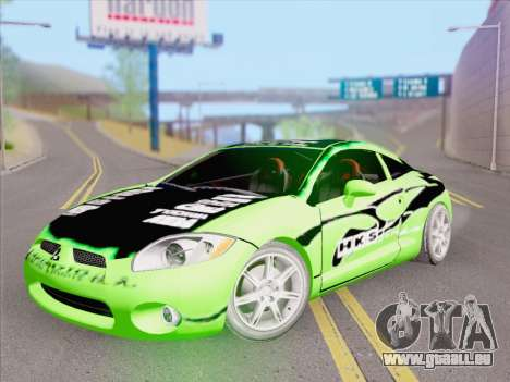 Mitsubishi Eclipse v4 pour GTA San Andreas salon