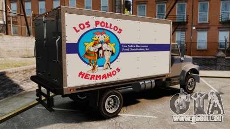 Yankee Los Pollos Hermanos für GTA 4 linke Ansicht