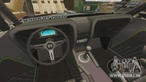 Ford Mustang RTRX für GTA 4 Innenansicht