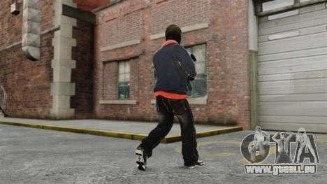 Franklin Clinton v2 pour GTA 4 quatrième écran