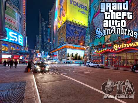 Loadscreens New-York für GTA San Andreas
