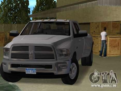 Dodge Ram 3500 Laramie 2012 für GTA Vice City