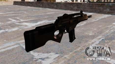 HK SL8 Gewehr der Bullpup für GTA 4 Sekunden Bildschirm