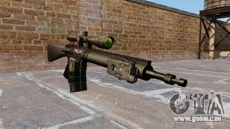 Scharfschützengewehr Mk 12 für GTA 4
