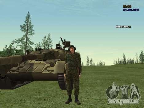 Panzerschütze für GTA San Andreas dritten Screenshot