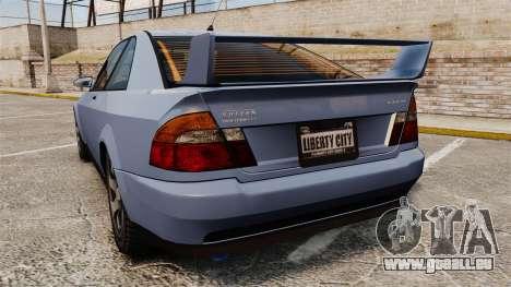 Sultan Coupe pour GTA 4 Vue arrière de la gauche