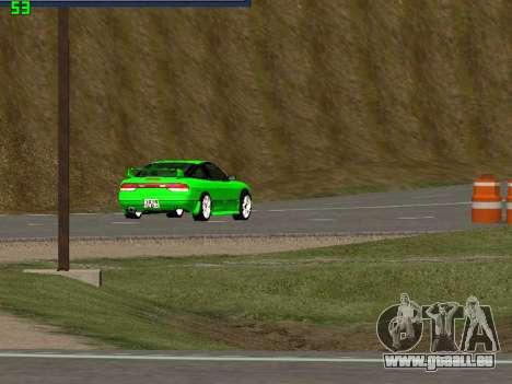Nissan 240SX Drift Version pour GTA San Andreas vue de droite