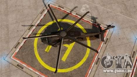 Sikorsky MH-X Silent Hawk [EPM] pour GTA 4 est un droit