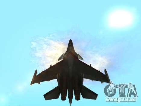 Su-33 für GTA San Andreas Motor