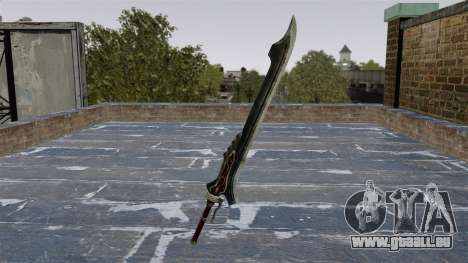 Schwert-Red Queen- für GTA 4 Sekunden Bildschirm