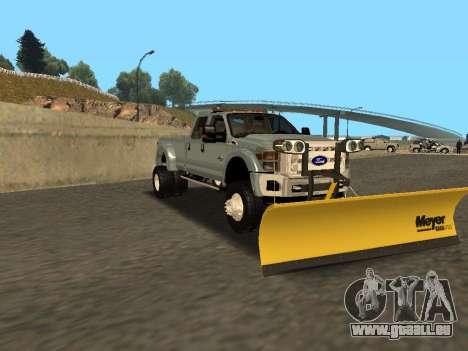Ford F-450 für GTA San Andreas zurück linke Ansicht