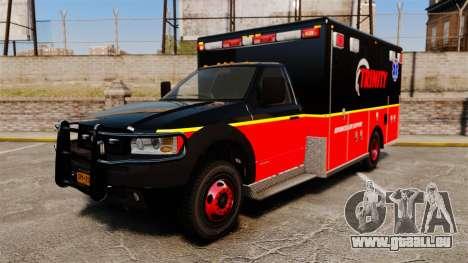Landstalker L-350 Trinity EMS Ambulance [ELS] pour GTA 4
