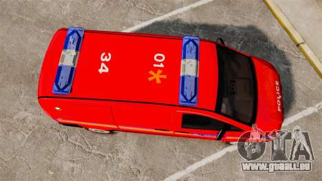 Mercedes-Benz Vito Metropolitan Police [ELS] pour GTA 4 est un droit